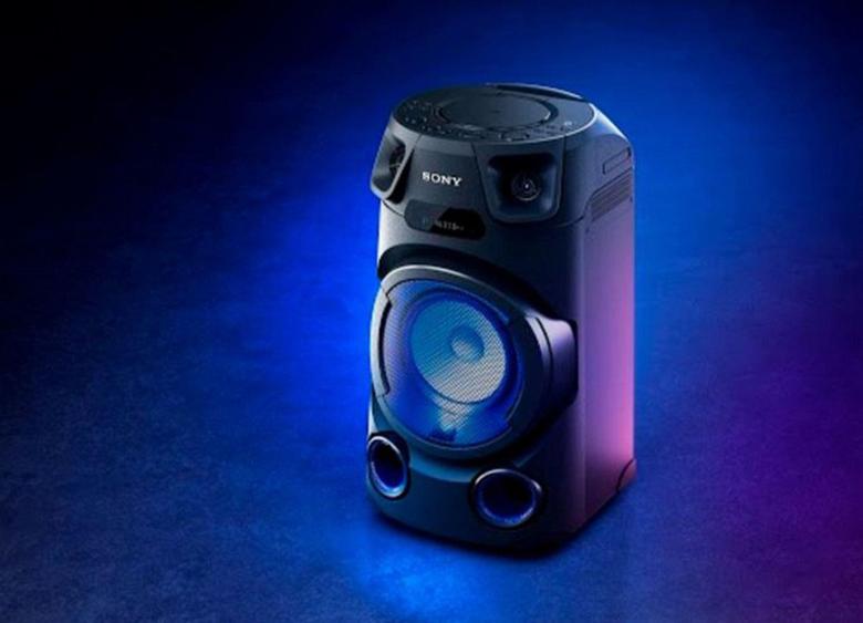 Thiết kế sang trọng - Dàn âm thanh Sony MHC-V13 M SP6