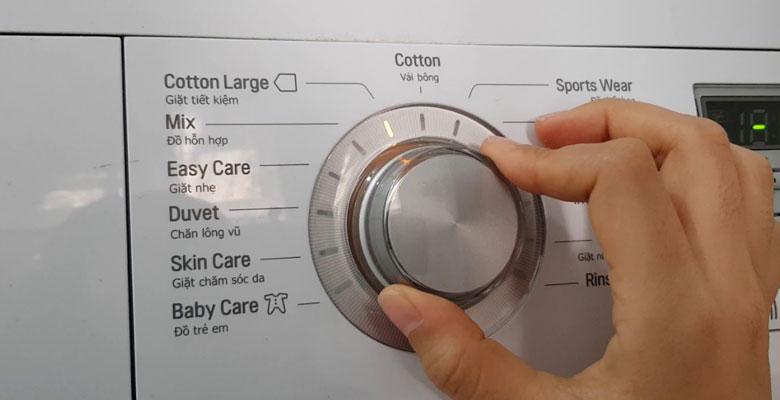 Nguyên nhân dẫn đến lỗi IE máy giặt LG