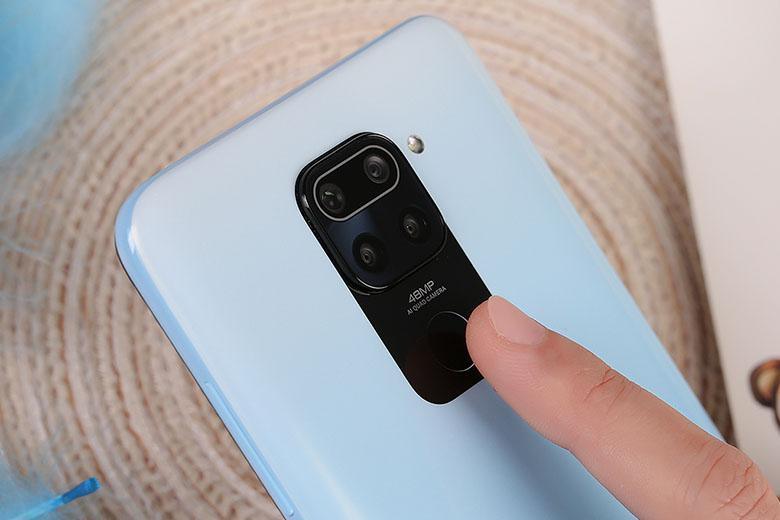 Camera 48MP - Điện thoại Xiaomi Redmi Note 9 4GB/128GB Trắng - Hàng chính hãng