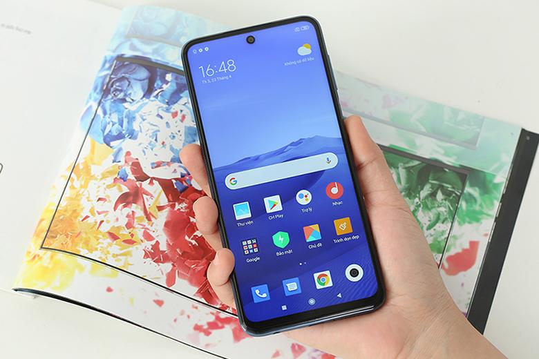 Màn hình tràn viền - Điện thoại Xiaomi Redmi Note 9 Pro 6GB/128GB Xám - Hàng chính hãng