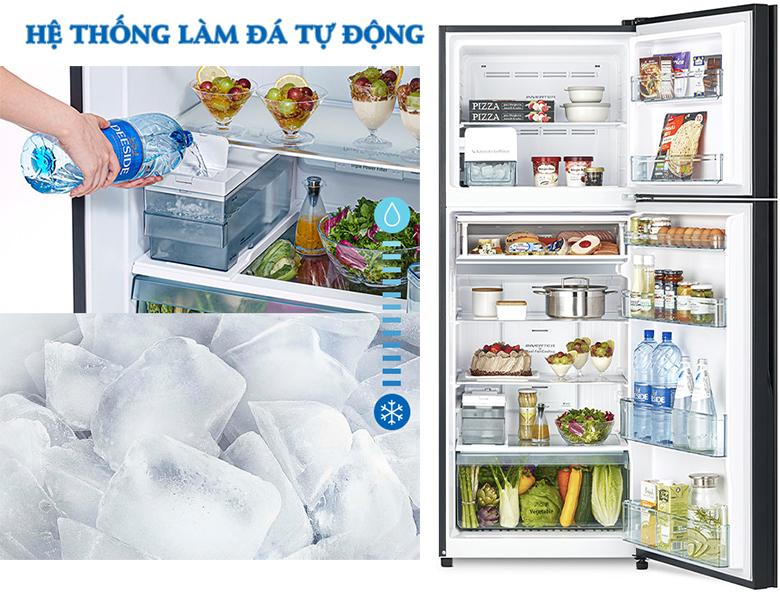 Tủ lạnh Hitachi Inverter 390 lít R-FVY510PGV0(GBK) LÀM ĐÁ TỰ ĐỘNG