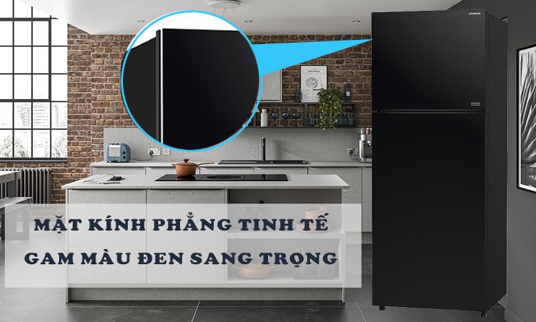 Tủ lạnh Hitachi Inverter 390 lít R-FVY510PGV0(GBK) THIẾT KẾ PHẲNG