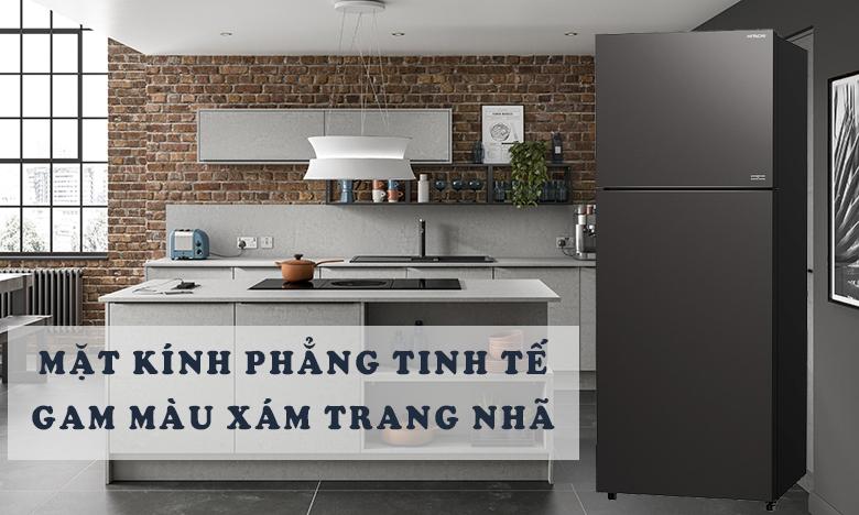 Tủ lạnh Hitachi Inverter 390 lít R-FVY510PGV0(GMG) THIẾT KẾ PHẲNG
