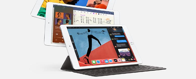Màn hình Retina - Máy tính bảng Apple iPad Gen 8 2020 Wifi MYLC2ZA/A 32GB 10.2 inch Vàng - Hàng chính hãng