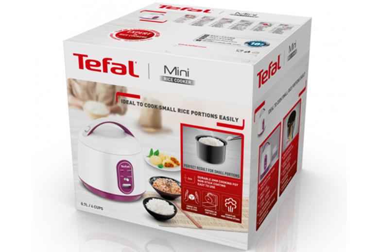 Vệ sinh dễ dàng-Nồi cơm điện Tefal 0.7 lít RK224168
