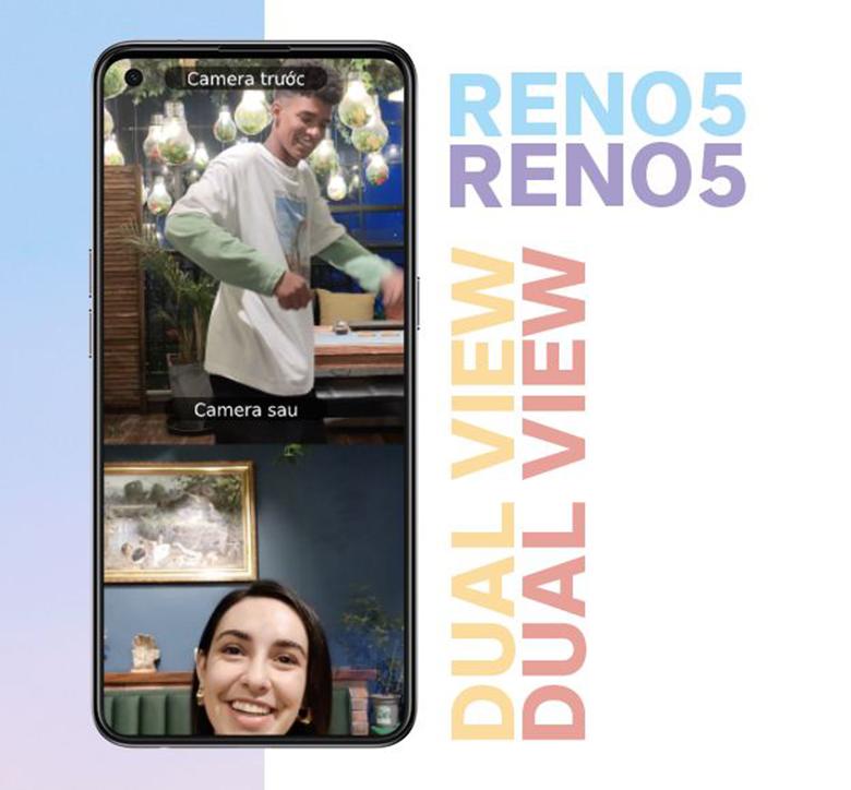 quay video- Điện thoại Oppo Reno5
