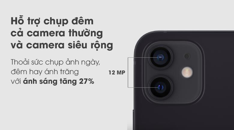 Camera kép- Điện thoại iPhone 12 64GB