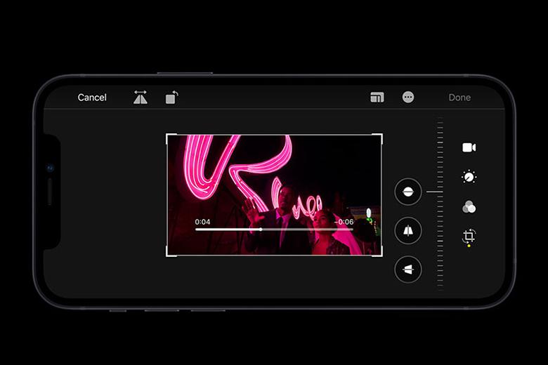 Quay video 4K - Điện thoại iPhone 12 64GB