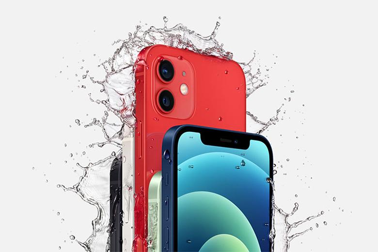 Kháng nước, kháng bụi -Điện thoại iPhone 12 64GB