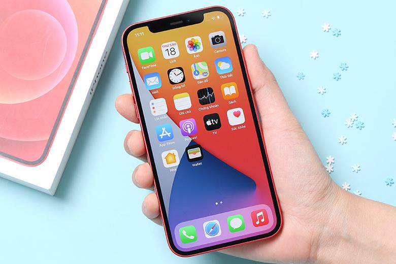 Màn hình Super Retina XDR OLED- Điện thoại iPhone 12