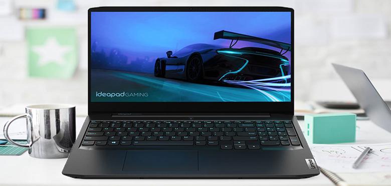 """Thiết kế đẳng cấp - Laptop Lenovo Ideapad Gaming 3 15IMH05 81Y40067VN (i7-10750H/8GB RAM/512GB SSD/15.6""""FHD/GTX1650 4GB/Win10/Đen)"""