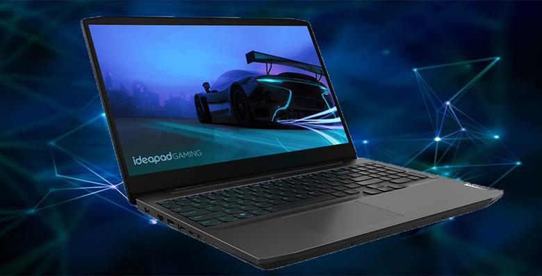 """Màn hình Full HD - Laptop Lenovo Ideapad Gaming 3 15IMH05 81Y40067VN (i7-10750H/8GB RAM/512GB SSD/15.6""""FHD/GTX1650 4GB/Win10/Đen)"""