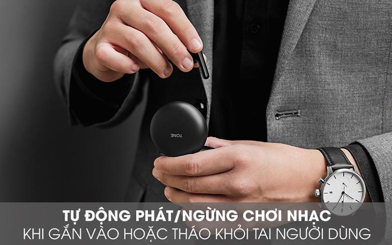 Tai nghe Bluetooth LG Tone Free HBS-FN6 Đen tự động ghép nối