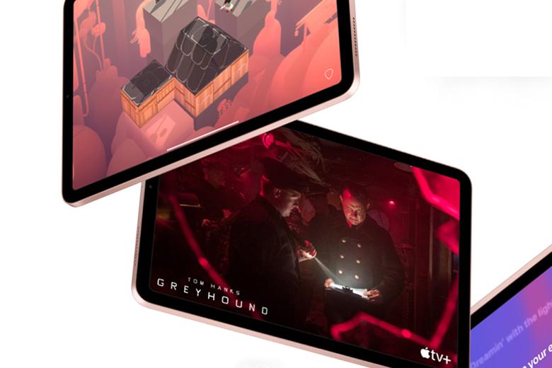 Màn hình siêu nét - Máy tính bảng Apple iPad Air 4 Wifi 64GB 10.9 inch Silver MYFN2ZA/A