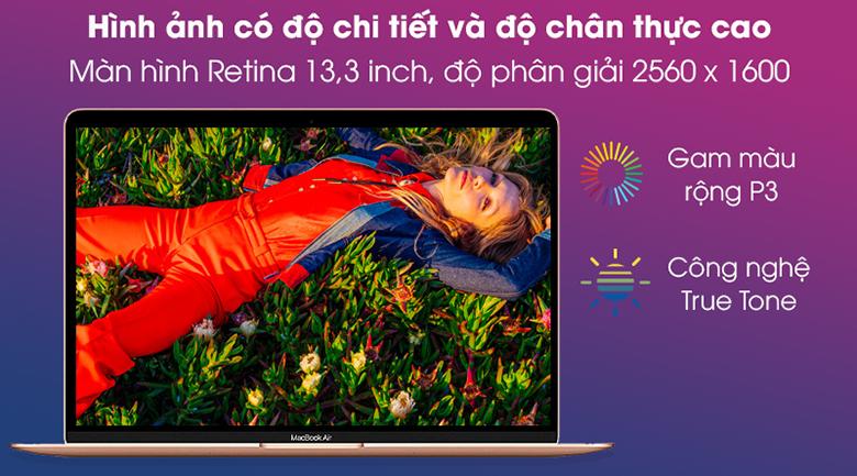 "Laptop Apple Macbook Air 2020 MGND3SA/A (Apple M1/8GB RAM/256GB SSD/13.3 ""2K/MacOS/Gold)"