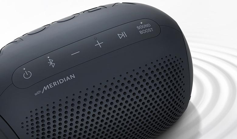 Loa Bluetooth LG Xboom Go PL2 Xanh Đen khuếch đại âm thanh sound boost