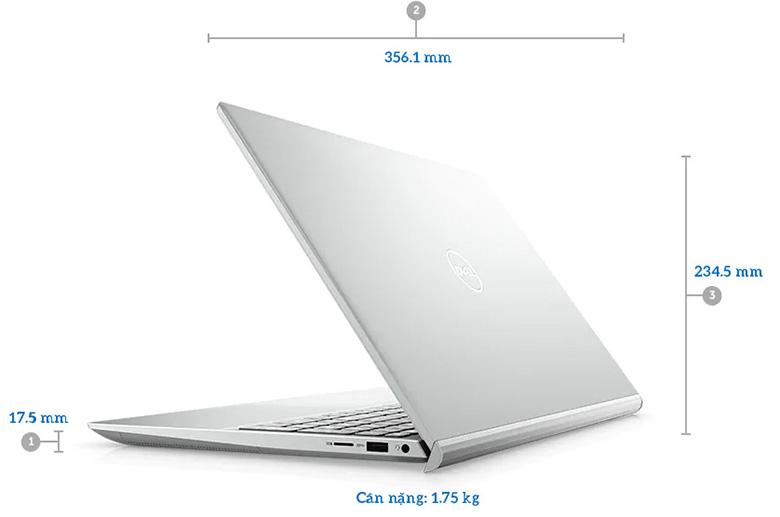 kích thước Laptop Dell Gaming Inspiron 7501 X3MRY1