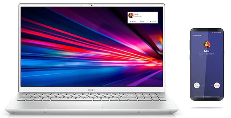 Laptop Dell Gaming Inspiron 7501 X3MRY1 ghép nối điện thoại thông minh
