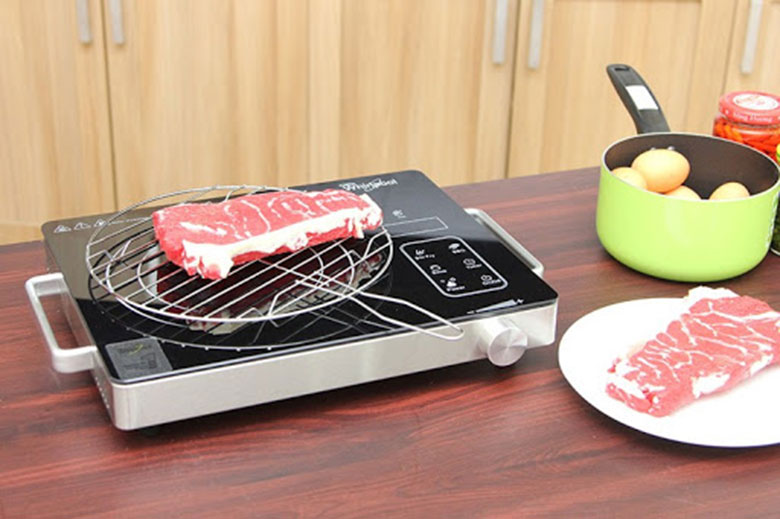 Đơn giản hướng dẫn cách nướng thịt bằng bếp từ   Món Miền Trung