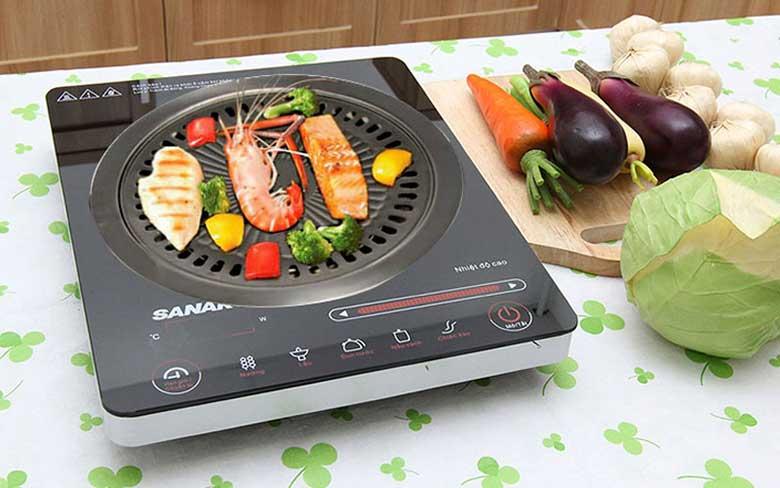 Nướng thịt bằng bếp từ cần lưu ý những gì?