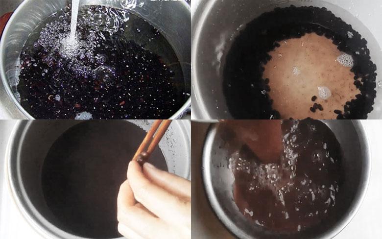 nấu chè bằng nồi cơm điện tử