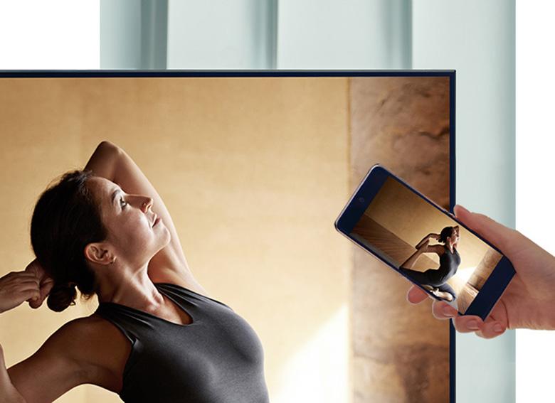 Tap View - Smart Tivi Samsung 4K 65 inch 65AU9000
