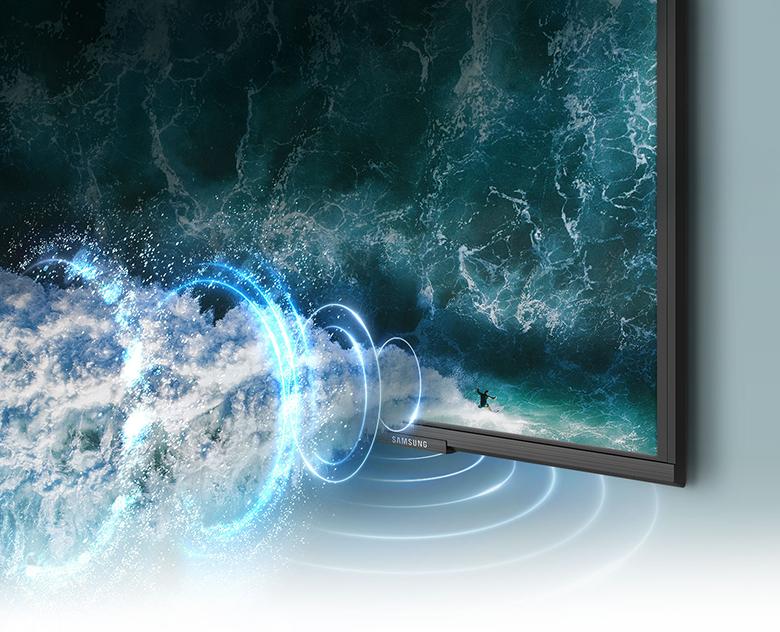 Âm thanh vòm sống động - Smart Tivi Samsung 4K 65 inch 65AU9000