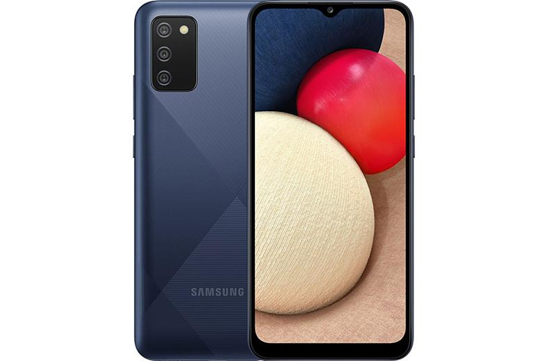 Điện thoại giá rẻ dưới 3 triệu: Samsung Galaxy A02S 4GB/64GB