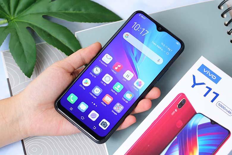 Điện thoại giá rẻ dưới 3 triệu: Vivo Y11 3GB/32GB