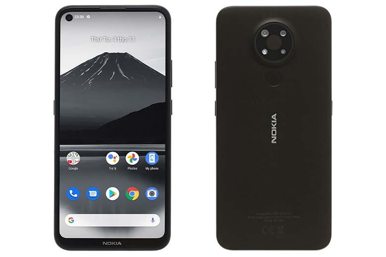 Điện thoại giá rẻ dưới 3 triệu: Nokia 3.4 4GB/64GB