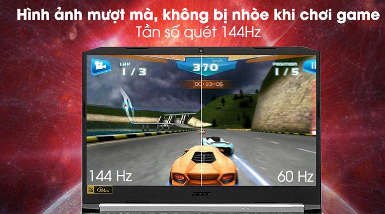 Laptop Acer Gaming Nitro AN515-44-R9JM NH.Q9MSV.003 màn hình sắc nét