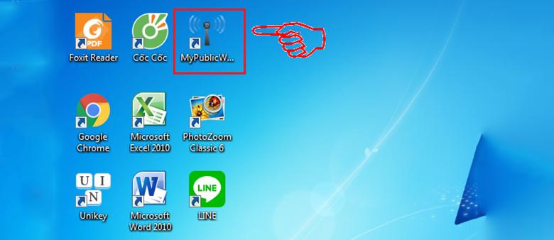 Phần mềm phát wifi cho laptop: MyPublicWiFi