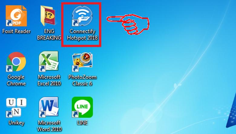 cài đặt phần mềm phát wifi cho laptop Connectify bước 2