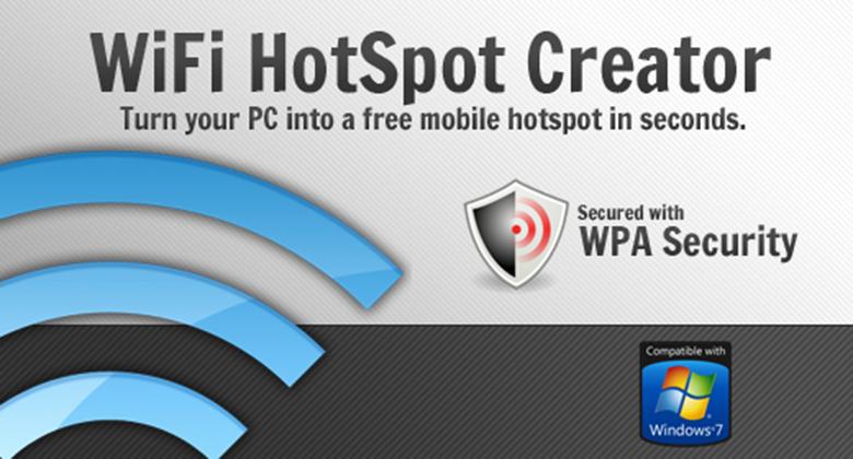 Phần mềm phát wifi cho laptop: WiFi HotSpot Creator