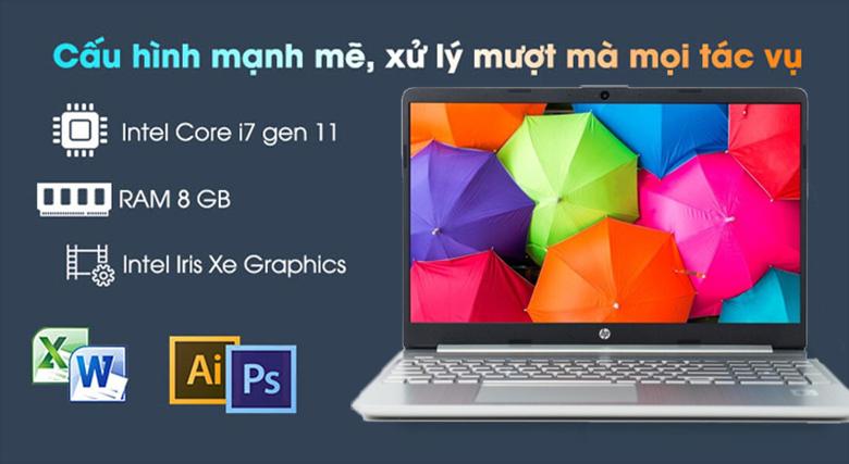 Laptop HP có tốt không: Laptop HP 15s-fq2029TU 2Q5Y7PA