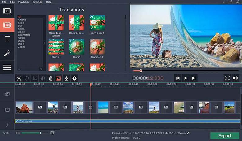 Những lưu ý khi sử dụng app làm video trên máy tính Movavi Slideshow Maker