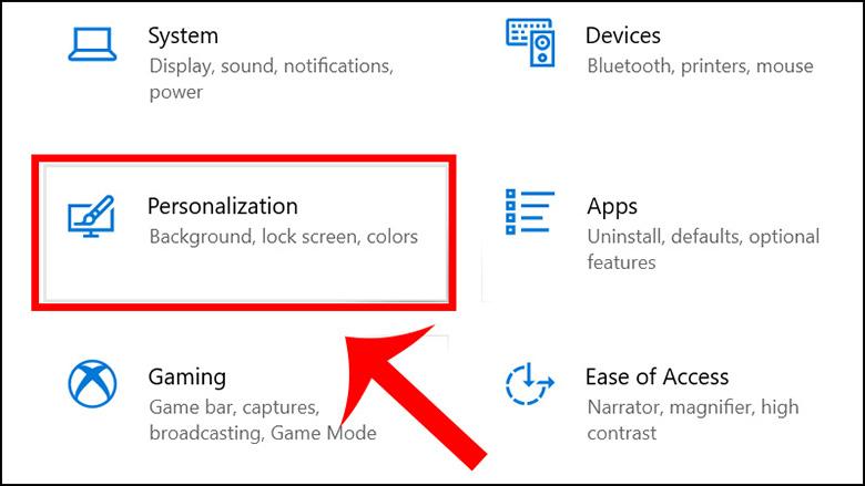 Cách chỉnh laptop không tắt màn hình bằng Settings bước 2