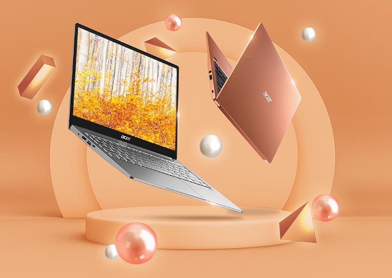 Laptop Acer Swift 3X SF314-59-599U NX.A0MSV.001 hiệu năng mạnh mẽ