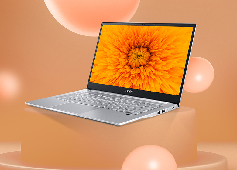 Laptop Acer Swift 3X SF314-59-599U NX.A0MSV.001 kết nối nhanh