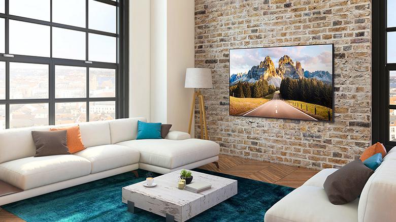 Cảm biến Eco - Smart Tivi Samsung 4K 65 inch 65AU9000