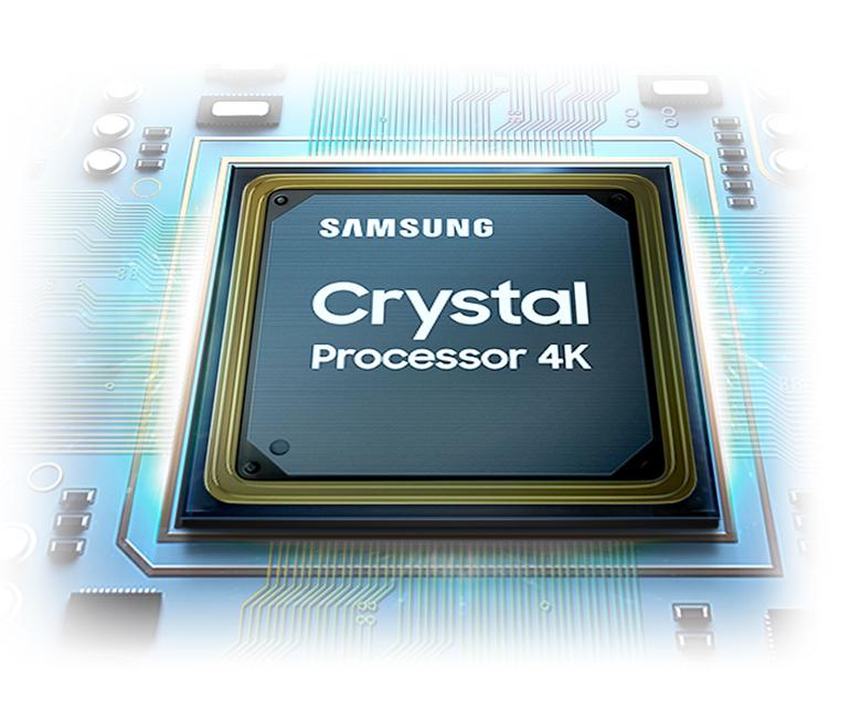 Bộ xử lý Crystal 4K - Smart Tivi Samsung 4K 65 inch 65AU9000