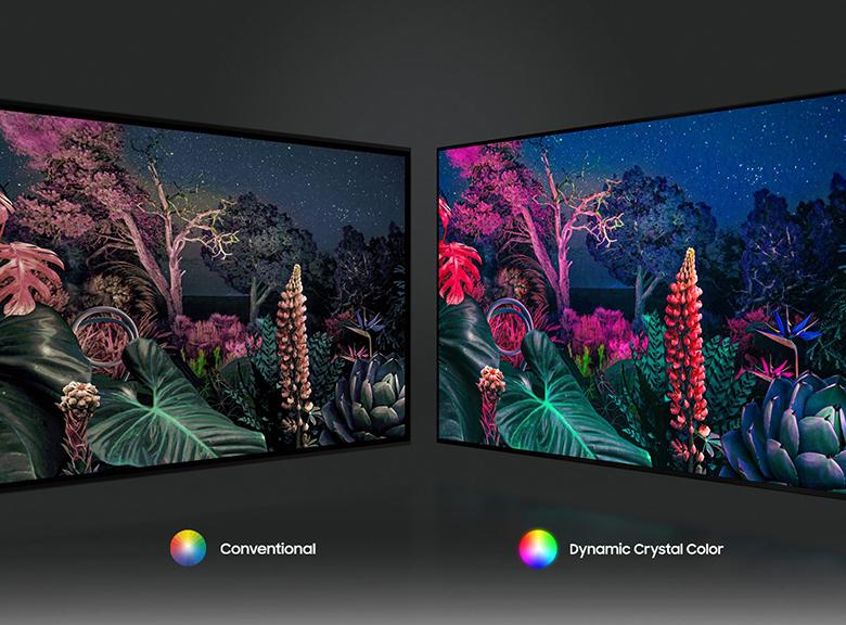 Màu sắc chân thực - Smart Tivi Samsung 4K 65 inch 65AU9000