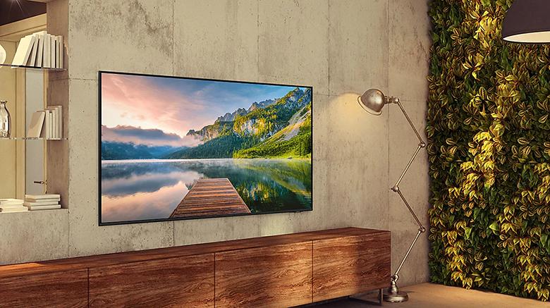 Giá treo tường - Smart Tivi Samsung 4K 65 inch 65AU9000