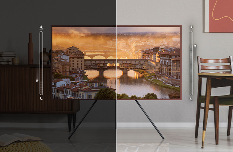 Cảm biến ánh sáng - Smart Tivi Khung Tranh The Frame QLED 4K Samsung 75 inch QA75LS03A
