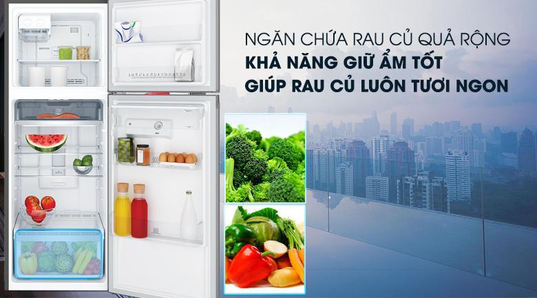 Tủ lạnh Electrolux Inverter 341 lít ETB3740K-H NGĂN RAU