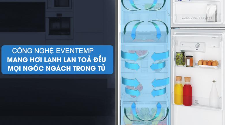 Tủ lạnh Electrolux Inverter 312 lít ETB3440K-H làm lạnh eventemp