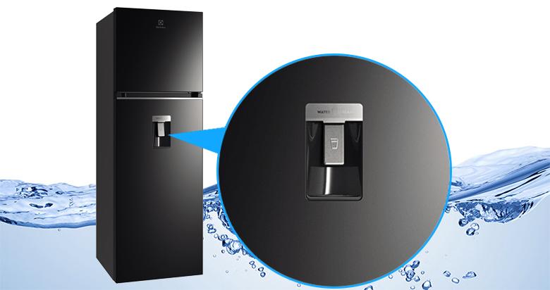Tủ lạnh Electrolux Inverter 312 lít ETB3440K-H lấy nước ngoài