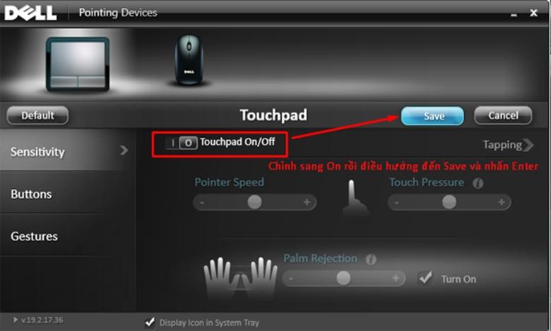 Cách mở touchpad trên laptop khi không dùng chuột dây bằng cài đặt trên máy bước 4