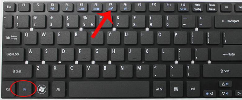 Cách mở touchpad trên laptop khi không dùng chuột dây bằng phím cứng