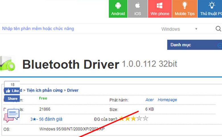 Cách kết nối laptop không có bluetooth với các thiết bị khác bằng phần mềm Bluetooth Driver